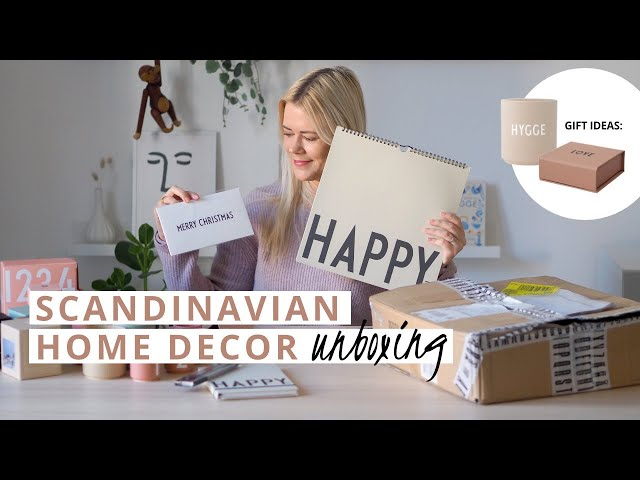 GIFT IDEAS FOR CHRISTMAS: nordic home decor unboxing | That Scandinavian Feeling