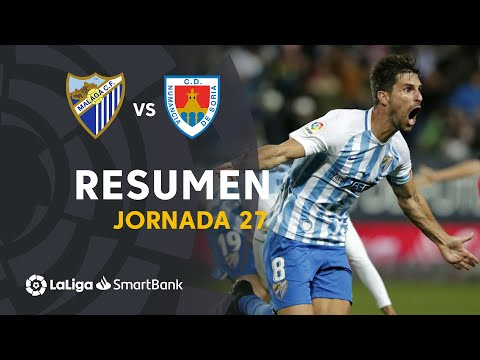 Resumen De Málaga CF Vs CD Numancia (2-1)