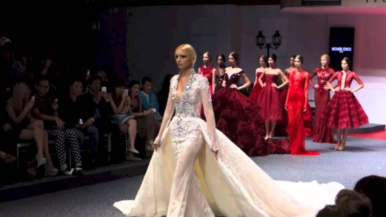 Michael Cinco S Fid 233 Fashion Week Youtube