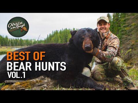 Best Of Black Bear Hunts Vol.1   Canada in the Rough