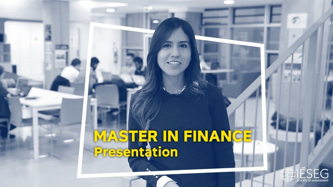Master of Science in Finance - IÉSEG