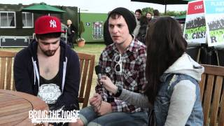 Bring The Noise UK - Never Means Maybe Interviewed at Download Festival 2011