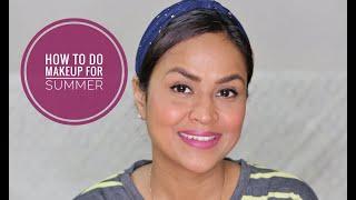 How To Do Sweatproof Makeup For Summer | Minimal Makeup | Shalini Srivastava