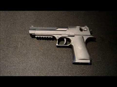 Umarex Desert Eagle 4 5mm Co2  177 Pellet Air Pistol Review