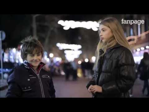 Apa reaksi anak-anak ini ketika disuruh menampar seorang gadis ?