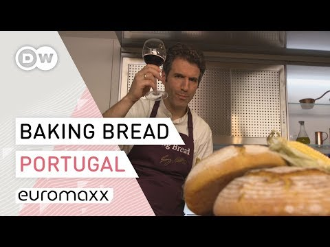 Baking Bread – What Bread reveals about the EU | Traditional Corn Bread from Portugal