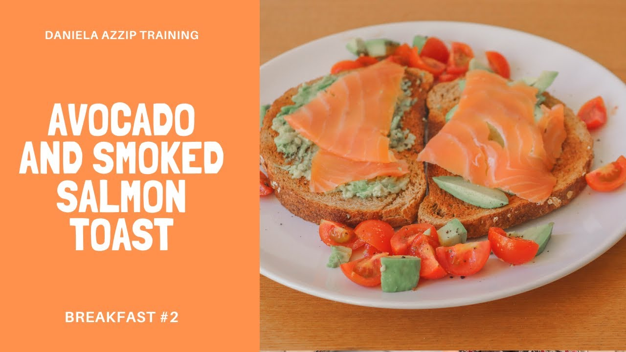 Avocado and smoked salmon toast (Breakfast #2) | Healthy breakfast recipes, avocado toast