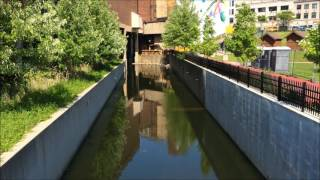 Lock 3 Park in Akron, Ohio (5-24-16)
