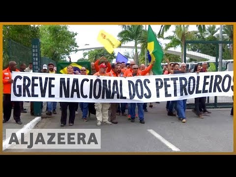 🇧🇷 Brazil oil company Petrobras boss resigns amid truckers' strike | Al Jazeera English