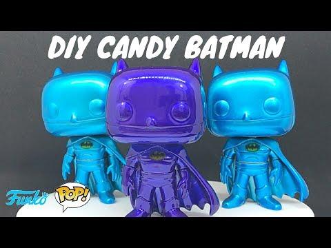 DIY - Funko POP Candy Custom Batman - Simple How-To Guide