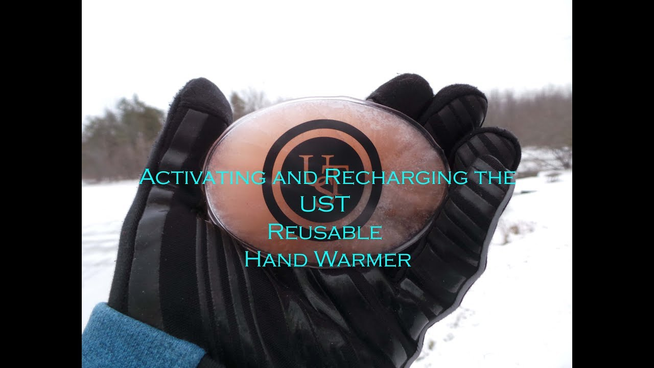 Activating and Recharging the UST Reusable Hand Warmer