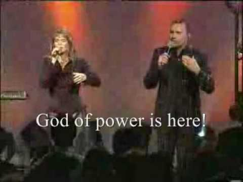 God is here with lyrics by Lara Martin and Abundant Life Worship team
