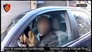 Përshkuan karexhatën kundërvajtje. Policia Rrugore e Tiranës tërheq 10 leje të tjera drejtimi