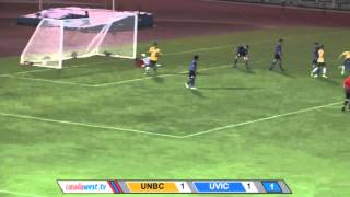 Sept. 12: MSOC UVIC vs UNBC Highlights