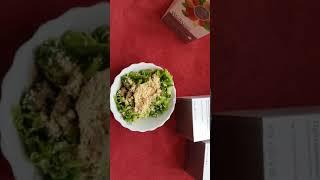 Салат с протеиновой смесью Weĺĺness