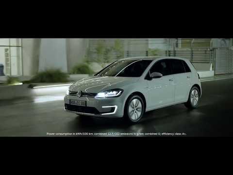 Volkswagen commercial, new e-Golf 2017