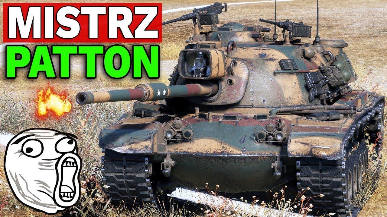 MISTRZ PATTONA – World of Tanks