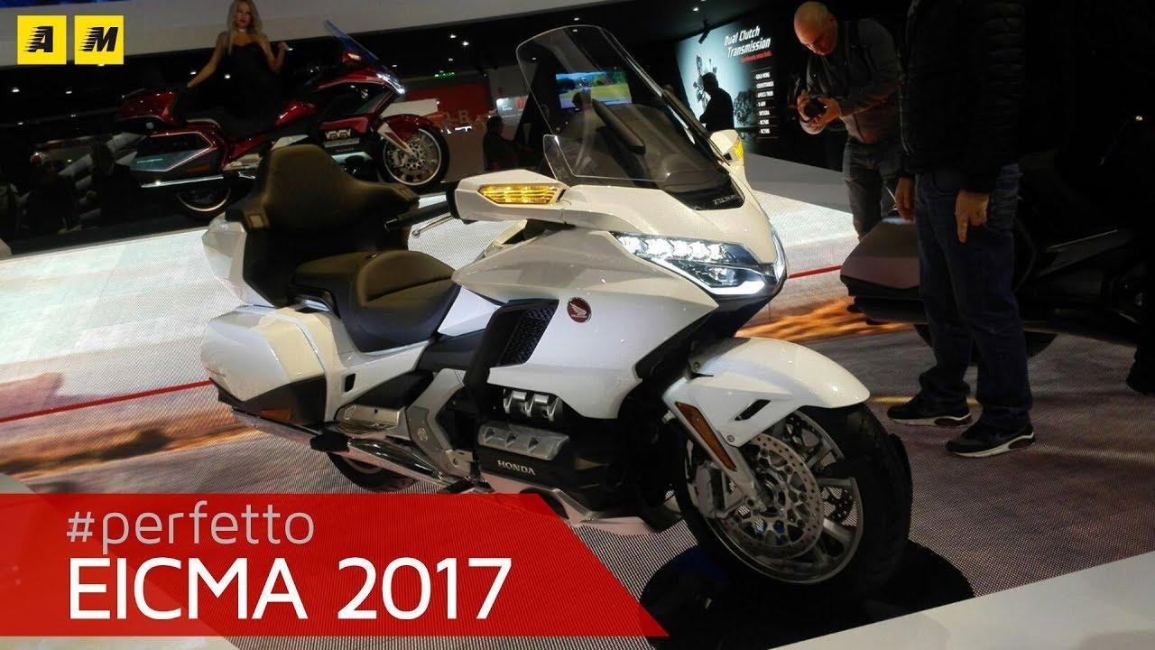 Eicma 2017 Honda Gold Wing Gl 1800 2018 English Sub Motoit