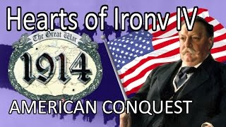 Hearts Of Iron IV Great War Mod - AMERICAN CONQUEST