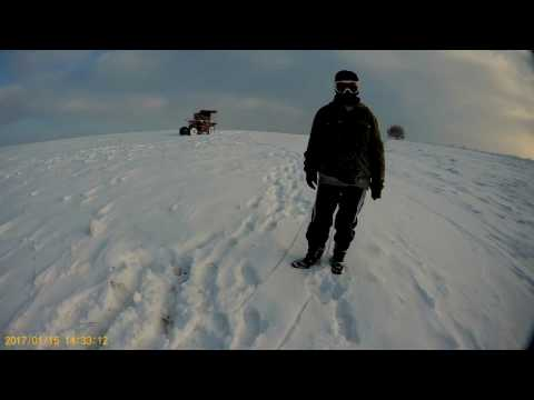 BAC MyVideo.  Winter vacation Drive a sleigh from the Big Mountain. @2017.01.15@ ... =)