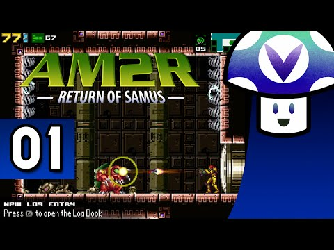 [Vinesauce] Vinny - Another Metroid 2 Remake: Return of Samus (part 1) + Art!