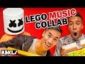 LEGO Song Collab w/ MARSHMELLO, CHAD WILD CLAY, ANDREW HUANG + More! - REBRICKULOUS
