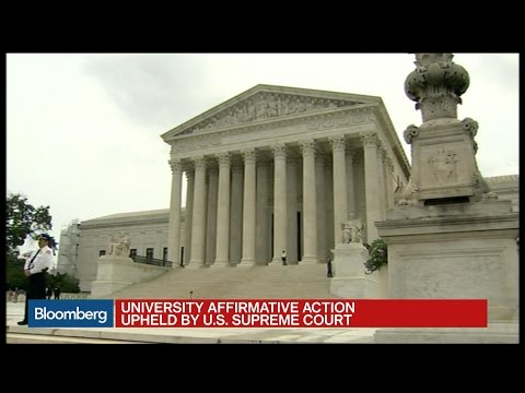 U.S. Supreme Court Upholds University Affirmative Action