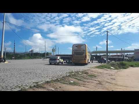 DESRESPEITO: ÔNIBUS ORIUNDOS DE SÃO PAULO CONTINUAM DESEMBARCANDO PASSAGEIROS EM BONFIM