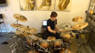 Genesis-Harold The Barrel-Nursery Crime Drum Cover