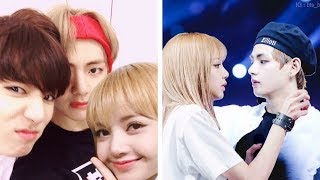 BTS x BLACKPINK COUPLE SHIPS