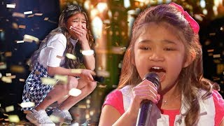 BEST GOLDEN BUZZER EVER? Angelica Hale Smashes Her First Audition!