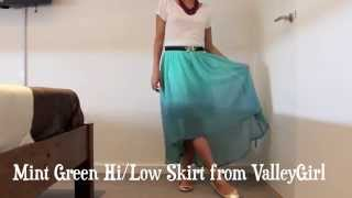How to style a High-Low skirt