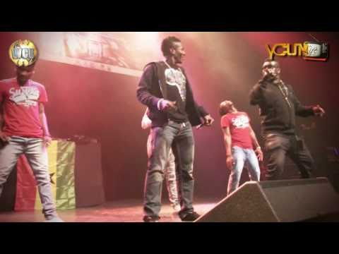 """Castro Ft Asamoah Gyan Baby Jet Perf """"African Girls""""   O2 Arena London"""
