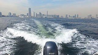 ヤマハシースタイルのレンタルボートを利用し 横浜ベイサイドマリーナか...