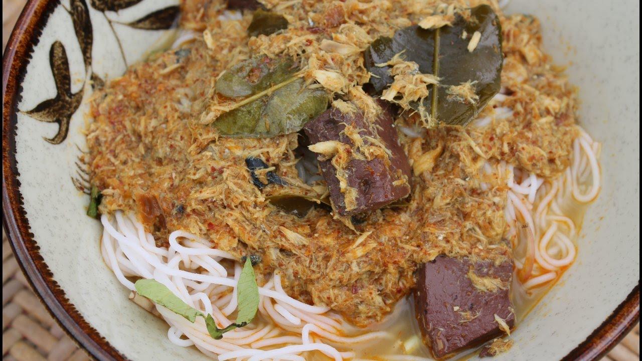 recette du laos soupe au poisson et aux vermicelles de riz cooking with morgane youtube. Black Bedroom Furniture Sets. Home Design Ideas