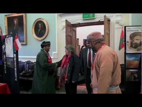 Omani Exhibition Day in Edinburgh