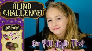 HARRY POTTER Jelly Beans Bertie Botts BEAN BOOZLED Blind Food CHALLENGE | PLP