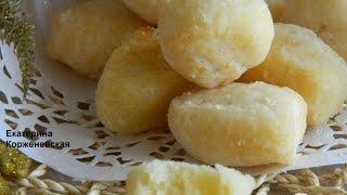 Лимонные подушечки  Рецепт выпечки