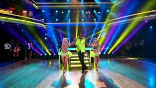Trio Salsa  Calvin, Lindsay, and Witney- Dancing with the Stars