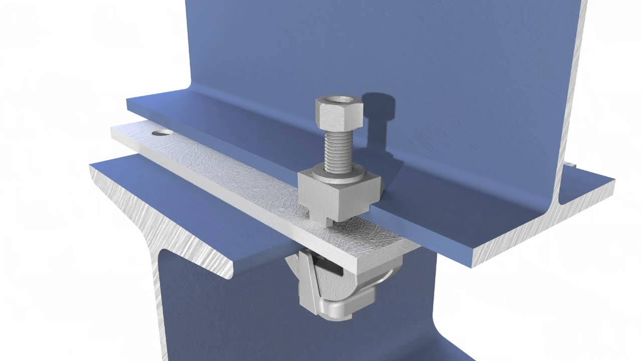 Type B Amp Lr Girder Clamp By Lindapter Youtube