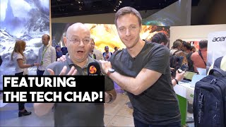 INTEL at ACER IFA with TOM THE TECH CHAP - Special Guest