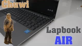 Chuwi Lapbook Air Unboxing - Windows 10 - M.2 Expansion Slot