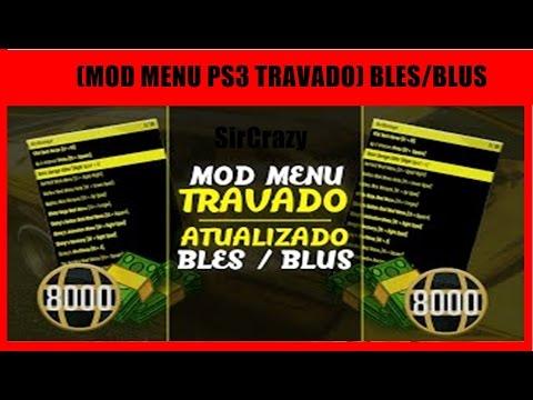 NOVO MOD MENU D3AD3DITZZ SERÁ QUE E VERDADE GTA V PS3