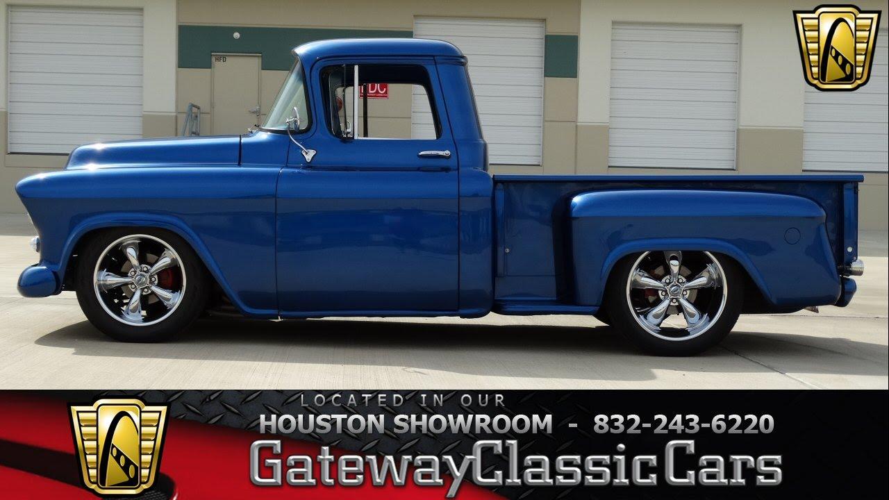 1956 Chevrolet 3100 Houston Tx - YouTube