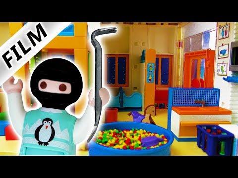 Playmobil Film deutsch | EMMA BRICHT IN KITA EIN - Alle Spuren verwischt?|Kinderserie Familie Vogel