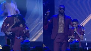 Flavour Brings 12 Year-Old Blind Boy On Stage Performs 'Most High' Together