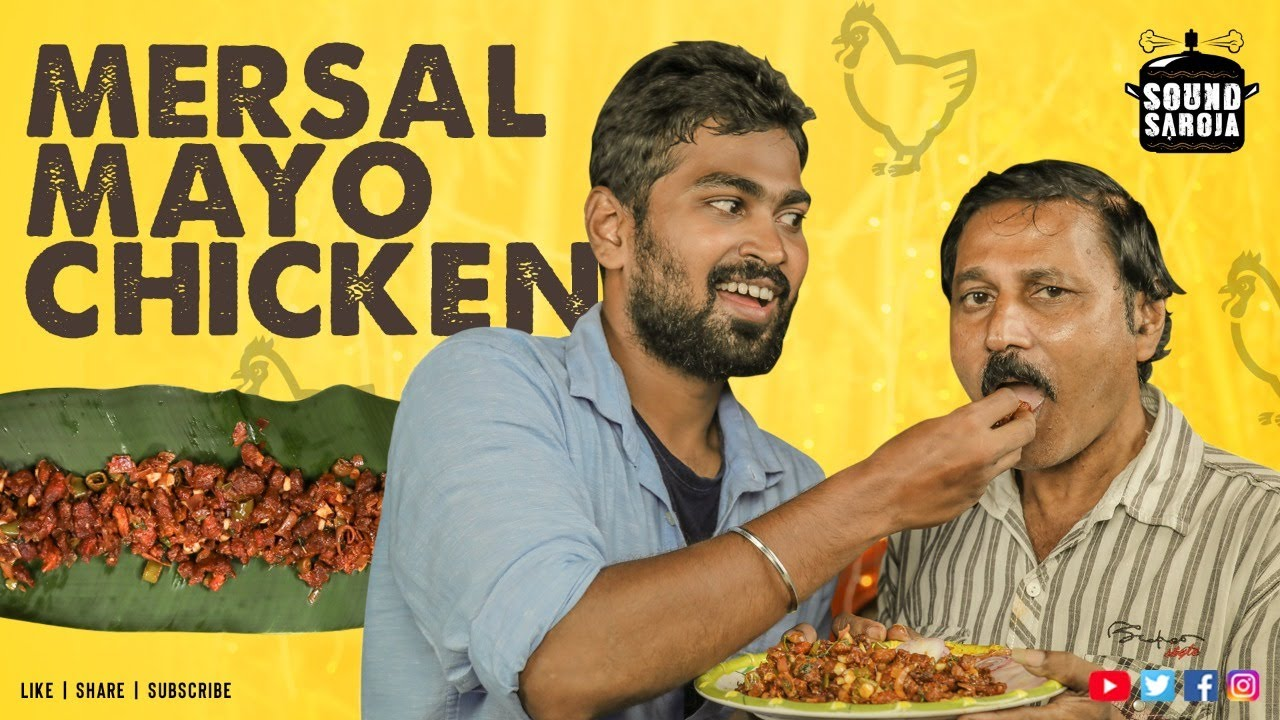 MERSAL MAYO CHICKEN Recipe in Tamil   Easy & Quick Snack Recipe   #SoundSaroja