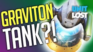 Overwatch - Graviton Tank With Damage TAUNT? (Efi Starts Building The Next Hero!)