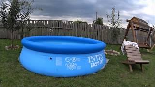видео Как установить бассейн плавательный на даче. Руководство по планированию