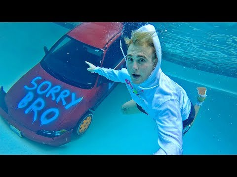 I SUNK My FRIENDS CAR THEN SURPRISED HIM With A NEW ONE!